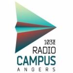 Logo da emissora Radio Campus Angers 103 FM
