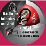 Logo da emissora Rádio Talentos Musical