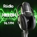 Logo da emissora Rádio Hits BH FM