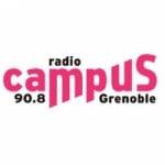 Logo da emissora Radio Campus Grenoble 90.8 FM