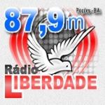 Logo da emissora Rádio Comunitária Liberdade 87.9 FM