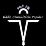 Logo da emissora Rádio Comunitária Popular 98.7 FM