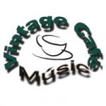 Logo da emissora Rádio Vintage Café Music