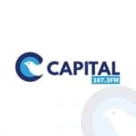 Logo da emissora Rádio Capital 107.3 FM