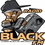 Logo da emissora Rádio Black FM