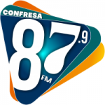 Logo da emissora Rádio Confresa 87.9 FM