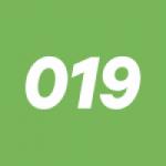 Logo da emissora Rádio 019