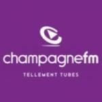 Logo da emissora Champagne 102.1 FM