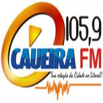Logo da emissora Rádio Caueira 105.9 FM