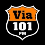 Logo da emissora Rádio Via 101 FM