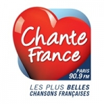 Logo da emissora Chante France 90.9 FM
