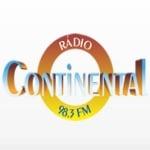 Logo da emissora Rádio Continental 98.3 FM
