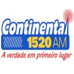 Logo da emissora Rádio Continental 1520 AM