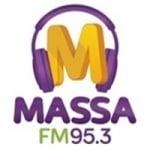 Logo da emissora Rádio Massa 95.3 FM
