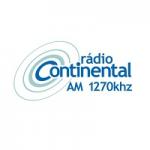 Logo da emissora Rádio Continental 1270 AM