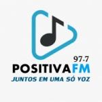 Logo da emissora Rádio Positiva FM