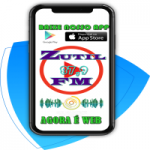 Logo da emissora Rádio Zutil FM