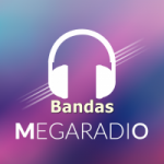 Logo da emissora Mega Rádio Bandas