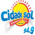 Logo da emissora Rádio Cidade Sol 94.9 FM