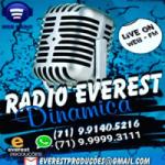 Logo da emissora Rádio Everest Dinâmica FM