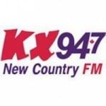 Logo da emissora KX947 CHKX  94.7 FM