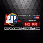 Logo da emissora Rádio Pop Web