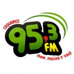 Logo da emissora Rádio Coqueiros 95.3 FM