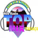 Logo da emissora Rádio Top Mix Itaguaçu
