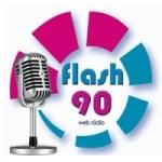 Logo da emissora Rádio Flash 90