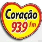 Logo da emissora Rádio Coração 93.9 FM