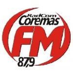 Logo da emissora Rádio Coremas 87.9 FM