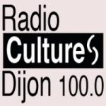 Logo da emissora Radio Cultures Dijon 100 FM