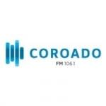 Logo da emissora Rádio Coroado 106.1 FM