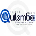Logo da emissora Rádio Quilombo FM