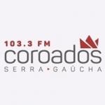 Logo da emissora Rádio Coroados 103.3 FM