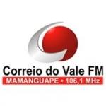 Logo da emissora Rádio Correio do Vale 106.1 FM