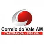 Logo da emissora Rádio Correio do Vale 1590 AM