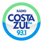 Logo da emissora Rádio Costa Azul 93.1 FM