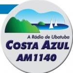 Logo da emissora Rádio Costa Azul 1140 AM
