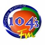 Logo da emissora Rádio Costa Branca 104.3 FM