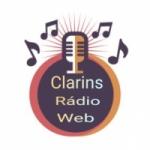 Logo da emissora Clarins Rádio Web