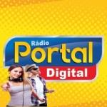 Logo da emissora Rádio Portal Digital