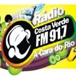 Logo da emissora Rádio Costa Verde 91.7 FM