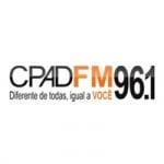 Logo da emissora Rádio CPAD 96.1 FM