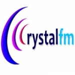 Logo da emissora Rádio Crystal FM