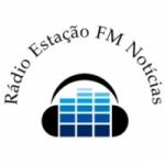 Logo da emissora Rádio Estação FM Notícias