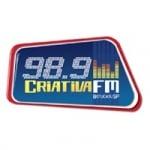 Logo da emissora Rádio Criativa 98.9 FM