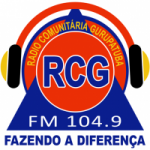 Logo da emissora Rádio Gurupatuba 104.9 FM