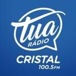 Logo da emissora Rádio Tua Cristal 100.5 FM