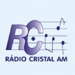 Logo da emissora Rádio Cristal 1550 AM